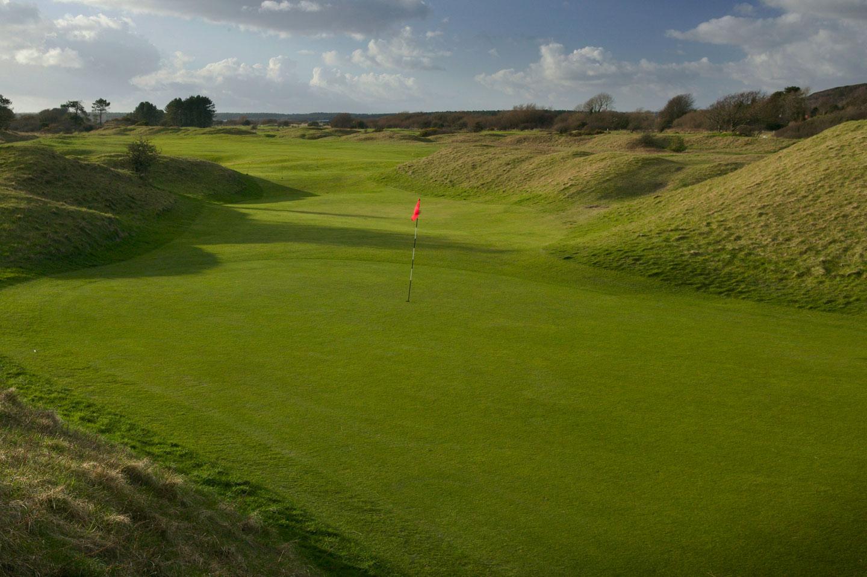 Ashburnham golf course overview