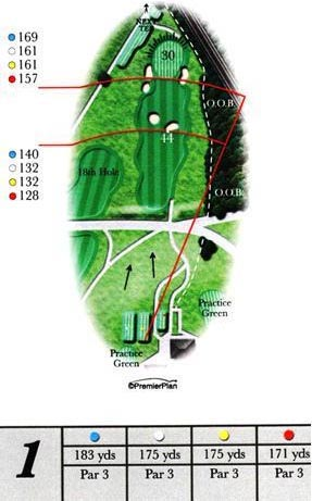 Ashburnham hole 1 guide