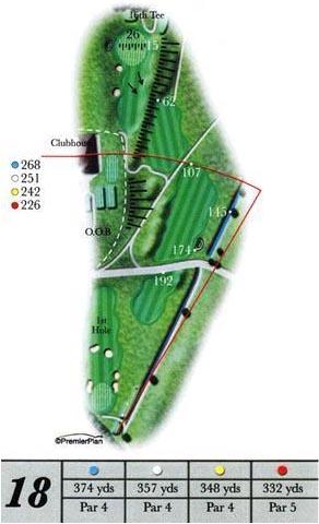 Ashburnham hole 18 guide