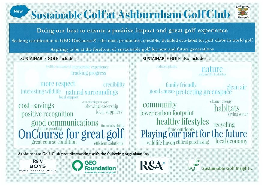 Sustainable Golf at Ashburnham