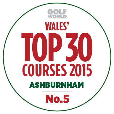 ashburnham top 30 golf course in wales